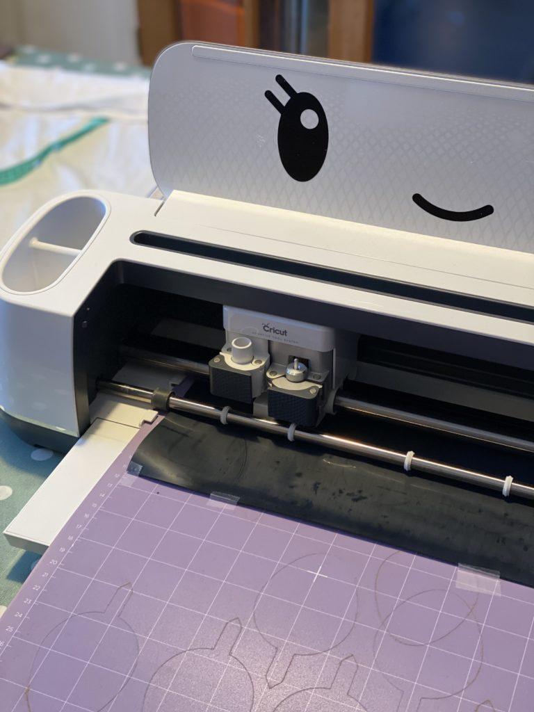 cutting Cricut SportFlex Iron-On