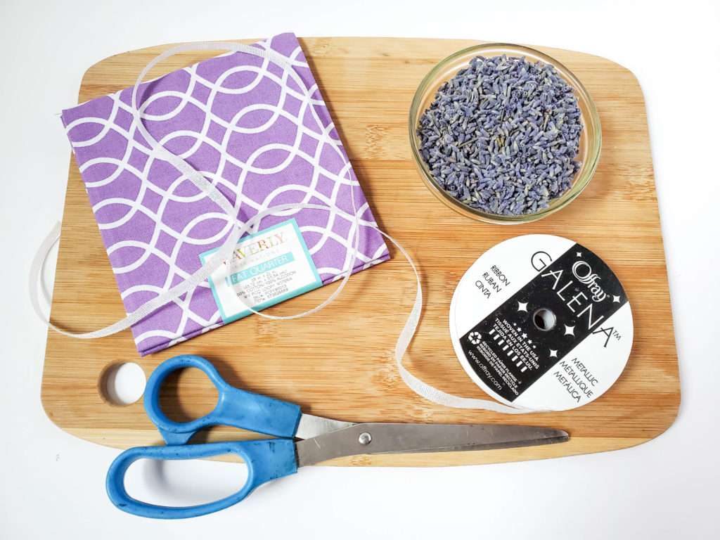 Easy no sew lavender bags