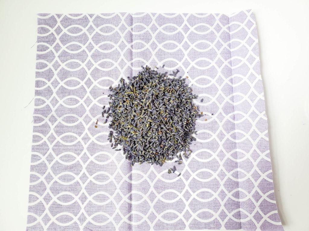 easy no sew lavender bag