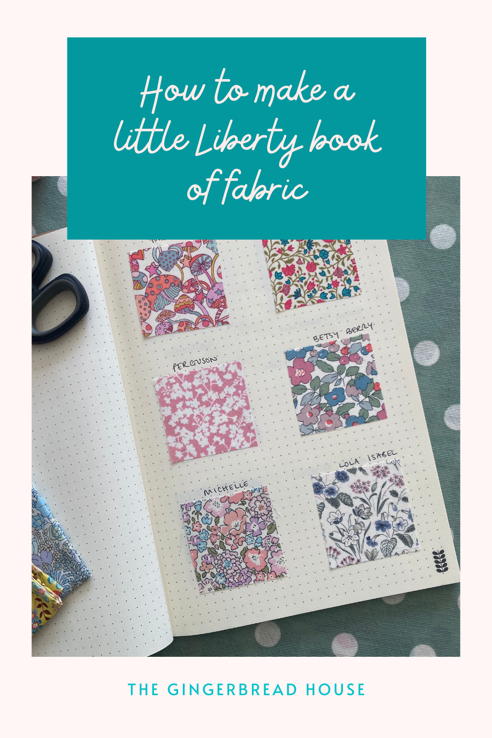 My little Liberty book of fabric