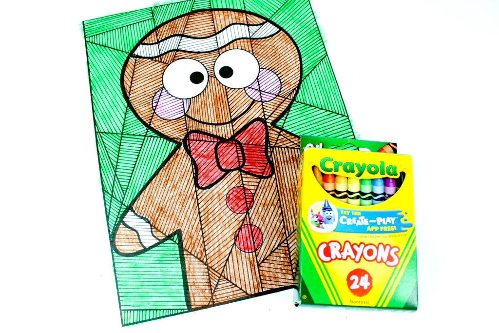 Gingerbread boy activity