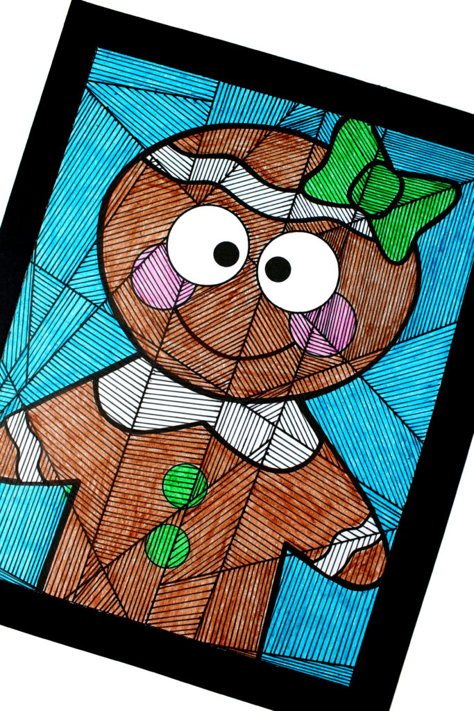 Gingerbread girl free printable