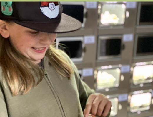 Ducks Hill Farm egg vending machine