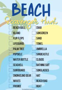 beach scavenger hunt thumbnail