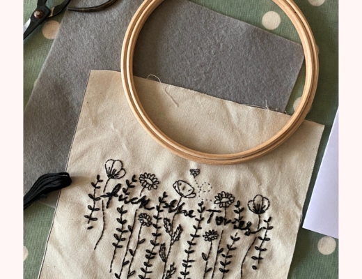 political embroidery hoop