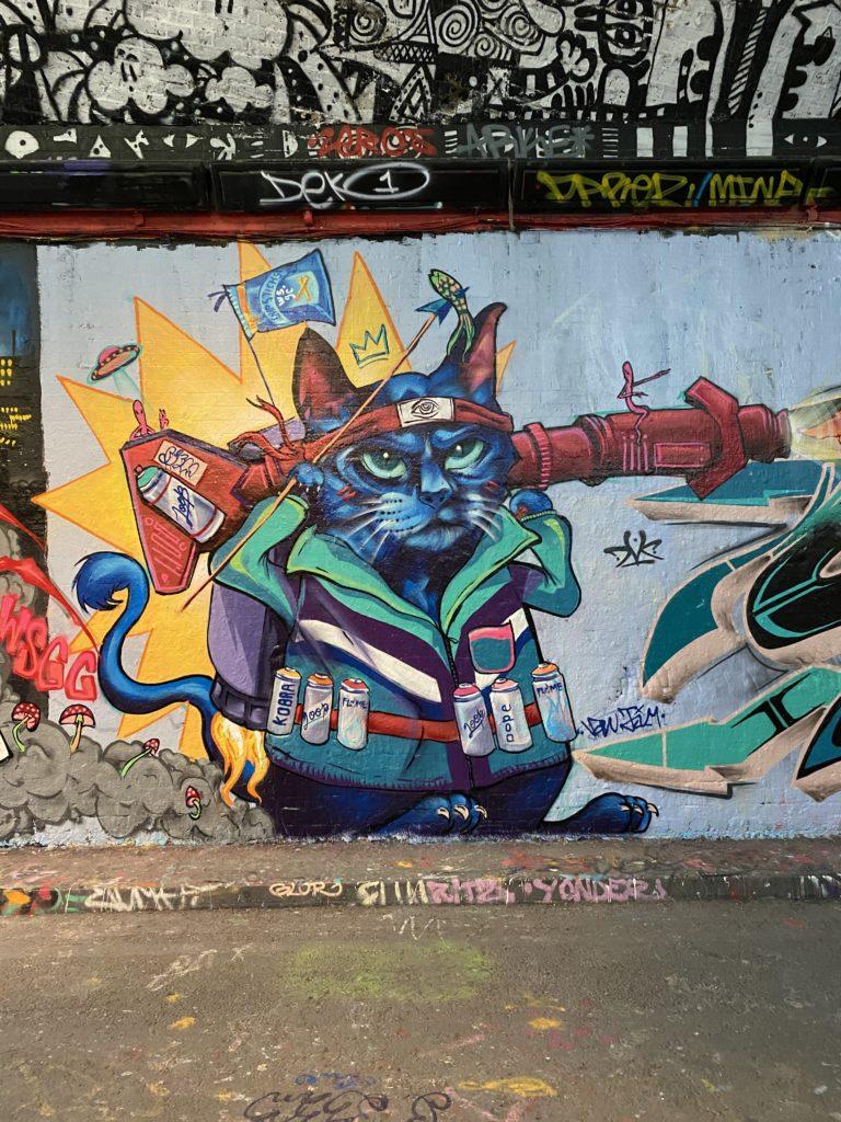 trip to the graffiti tunnel at Leake Street