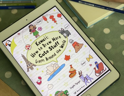 Kawaii How To Draw More Cute Stuff from Around the World {book review}