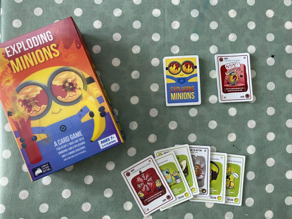 Exploding Minions from Exploding Kittens