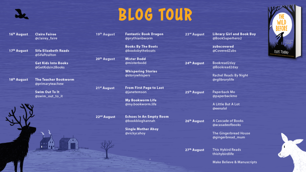 The Wild Before Blog Tour Banner