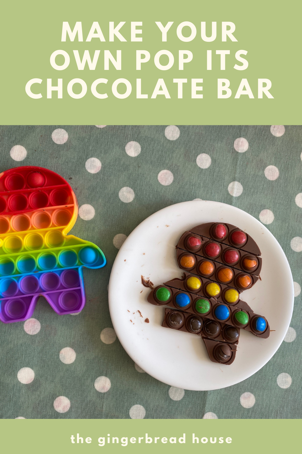 Make your own Pop Its chocolate bar