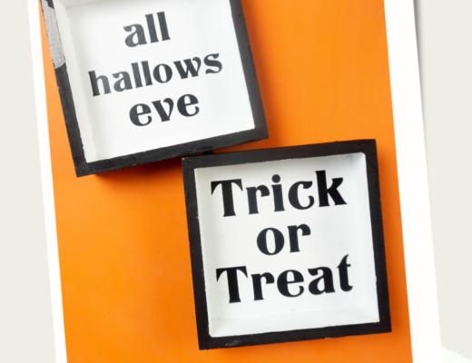Halloween Cricut Farmhouse Signs