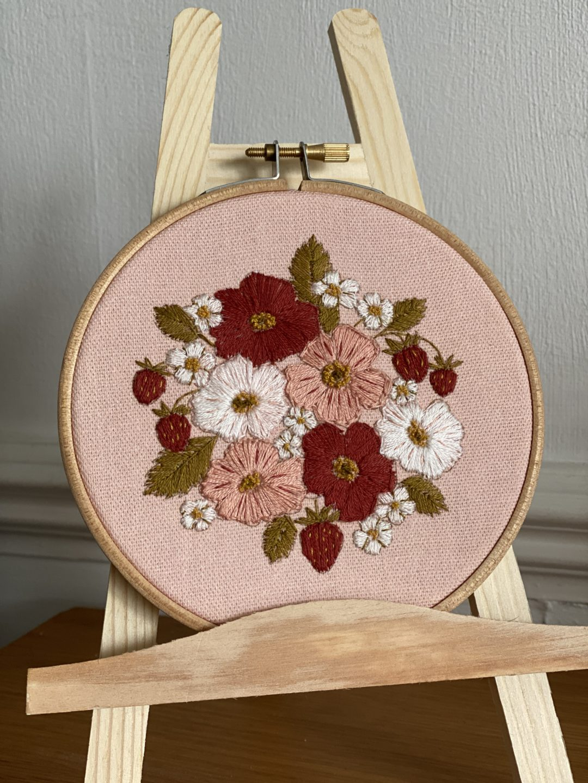 Wild Rose and Strawberries {Summer Craftpod}