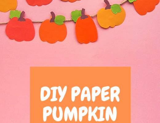 DIY Paper Pumpkin Garland
