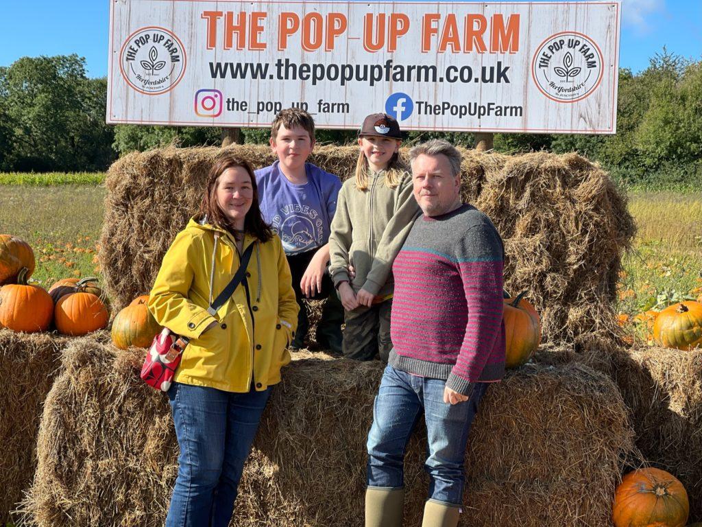 Pop Up Farm pumpkin patch